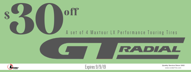 $30 off GT Radial