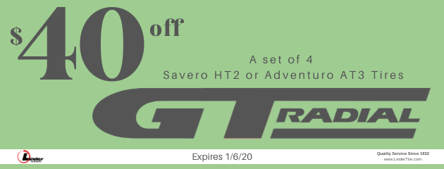 $40 off GT Radial