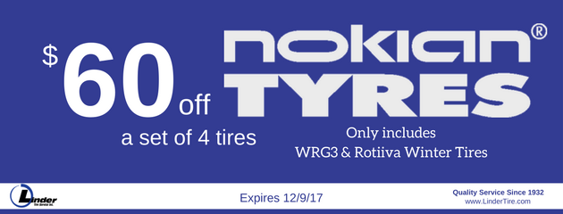 Nokian Tires WRG3 and Rotiiva Winter Tires