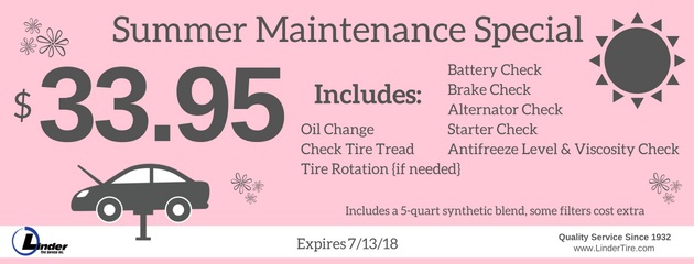 Summer Maintenance June